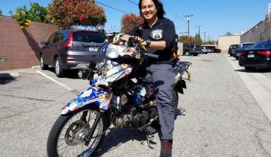 đi du lịch một mình bằng xe máy