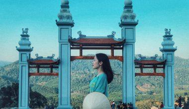 quang cảnh tuyệt đẹp trên chùa đồng